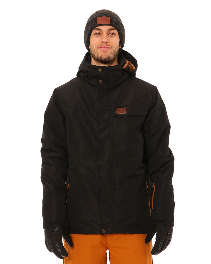 XTM Miles Jacket | Black- Shop Skis and snow gear online nz - snowscene