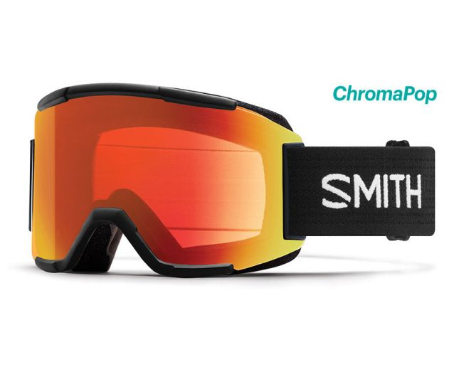 2020 Smith Squad Chromapop Goggle | Black- Shop Skis and snow gear online nz - snowscene