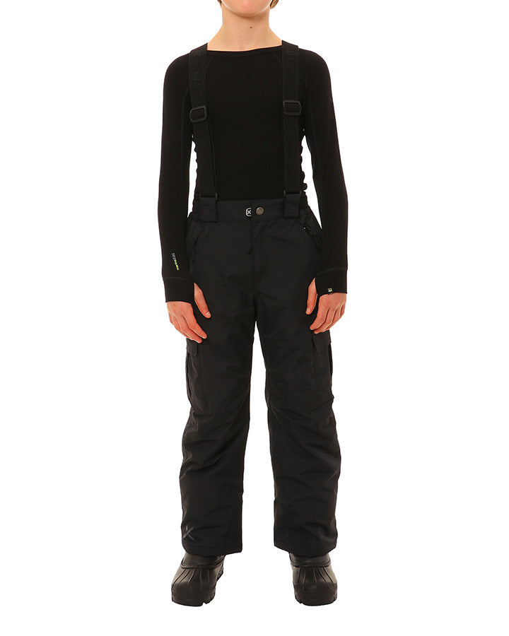 XTM Scoobie II Pants | Black- Shop Skis and snow gear online nz - snowscene