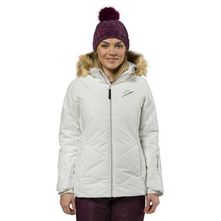 XTM Pia Jacket | White- Shop Skis and snow gear online nz - snowscene