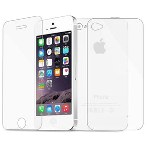 2 Pcs/lot Front+Back Tempered Glass For Iphone 4 4S - Screen Protectors - Paidcellphone