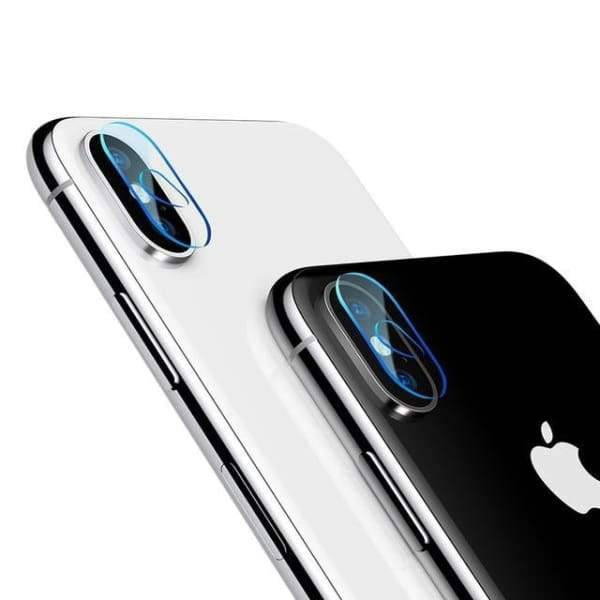 5D Camera Lens Screen Protector For Iphone X - Screen Protectors - Paidcellphone
