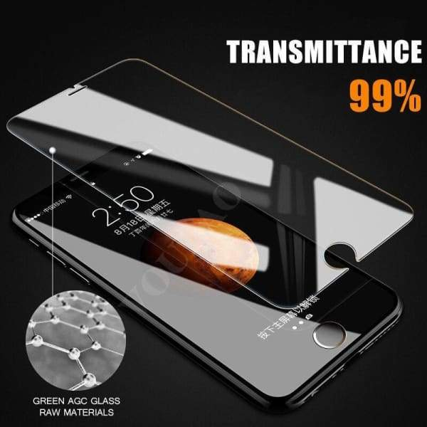 9H Premium Tempered Glass For Iphone 8 /8 Plus /7 /7 Plus /6 /6S /5 /5S Se /4 /4S /x - Screen Protectors - Paidcellphone