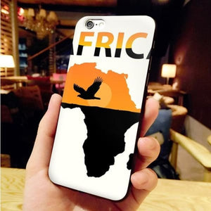 Africa Map Unique Iphone Case For Iphone 8 /7 /6 /6S Plus /x /5 5S Se - 1 / For Iphone X Or Xs - Iphone Cases & Bags - Paidcellphone