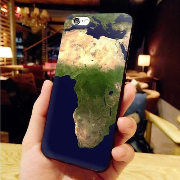 Africa Map Unique Iphone Case For Iphone 8 /7 /6 /6S Plus /x /5 5S Se - 3 / For Iphone X Or Xs - Iphone Cases & Bags - Paidcellphone