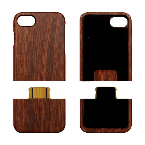 All Log Wooden Case For Iphone 8/8 Plus - Iphone Cases & Bags - Paidcellphone