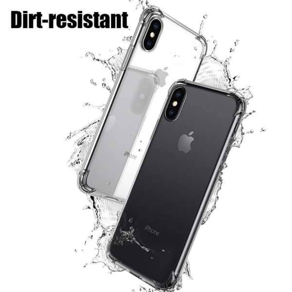 Anti-Knock Case For Iphone 6/6S / 7/8 Plus/ X Cases Transparent - Iphone Cases & Bags - Paidcellphone