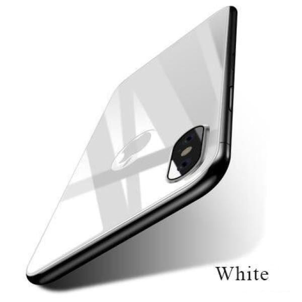 Back Screen Protector Film For Iphone X - White - Screen Protectors - Paidcellphone