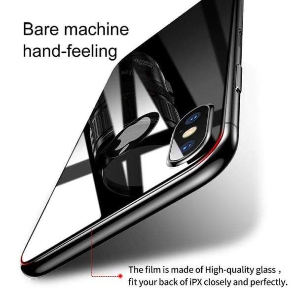Back Screen Protector Film For Iphone X - Screen Protectors - Paidcellphone