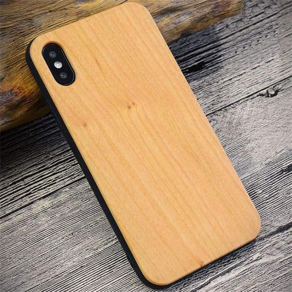 Bamboo Phone Case For Iphone X - Iphone Cases & Bags - Paidcellphone