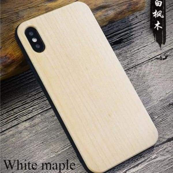 Bamboo Phone Case For Iphone X - As Picture 1 - Iphone Cases & Bags - Paidcellphone