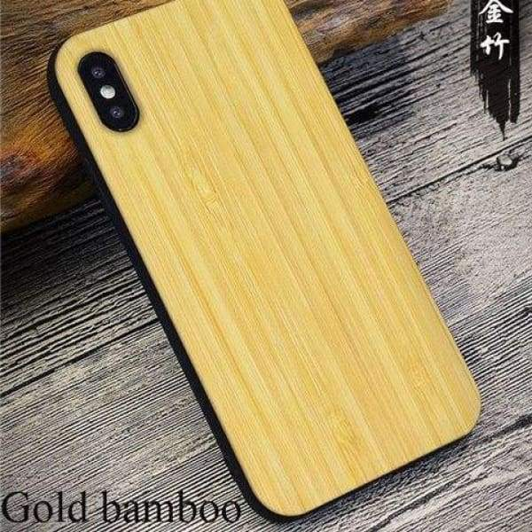 Bamboo Phone Case For Iphone X - As Picture 5 - Iphone Cases & Bags - Paidcellphone