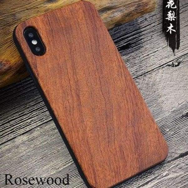 Bamboo Phone Case For Iphone X - As Picture 3 - Iphone Cases & Bags - Paidcellphone