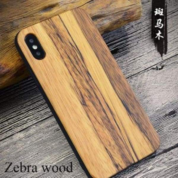 Bamboo Phone Case For Iphone X - As Picture - Iphone Cases & Bags - Paidcellphone