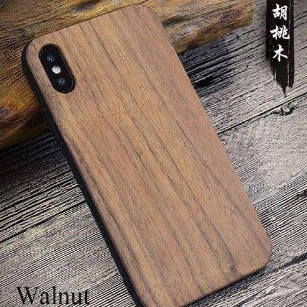 Bamboo Phone Case For Iphone X - As Picture 4 - Iphone Cases & Bags - Paidcellphone
