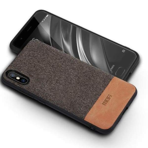 Business Case For Iphone X - Coffee With Brown / For Iphone X - Iphone Cases & Bags - Paidcellphone