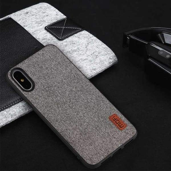 Business Case For Iphone X - Gray / For Iphone X - Iphone Cases & Bags - Paidcellphone