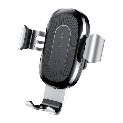 Car Mount Qi Wireless Charger For Iphone Xs Max /x /xr /8 - China / Silver - Chargers & Cables - Paidcellphone