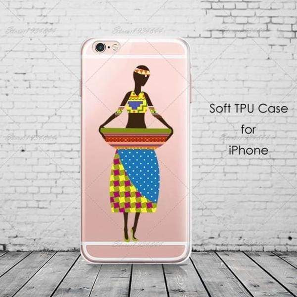 Cartoon Africa Iphone Case For Iphone 6 /6S /5 /5S Se/ 7 /8 Plus /x - Africa 5 / For Iphone 6 6S - Iphone Cases & Bags - Paidcellphone