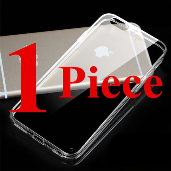 Crystal Tpu Anti-Shock - Transparent Iphone X / Xs Case - 1 Piece / For Iphone 4 4S - Iphone Cases & Bags - Paidcellphone