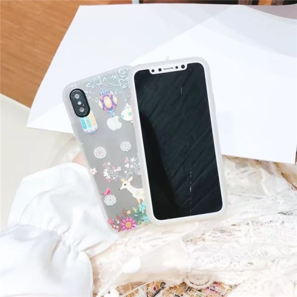 Cute Cartoon Luminous Case For Iphone X/ 8/ 7 / 6/6S & Plus - Iphone Cases & Bags - Paidcellphone