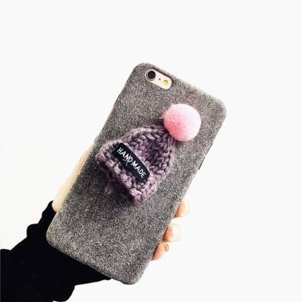 Cute Christmas Case For Iphone 8/ 7/ 6(S) Plus - Gray / For Iphone 6 6S - Iphone Cases & Bags - Paidcellphone