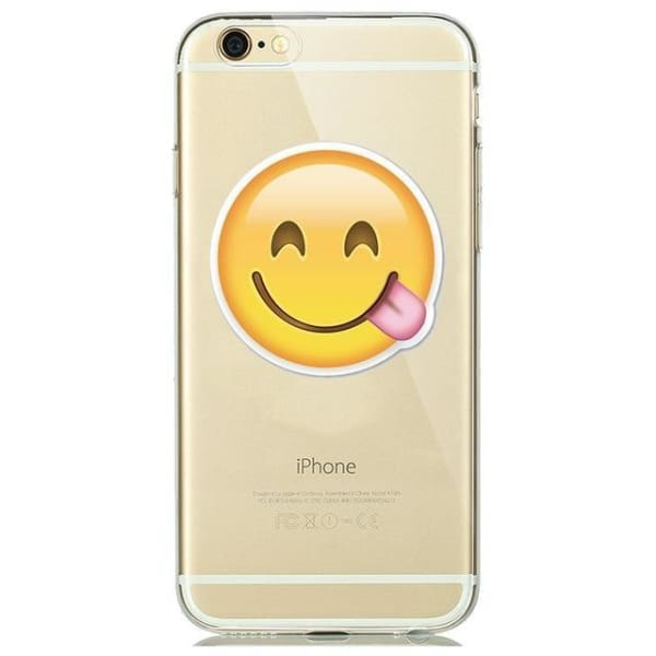 Cute Emoji Phone Cases For Iphone 6(S) Plus /5(S) Se - A1 / For Iphone 5 5S Se - Iphone Cases & Bags - Paidcellphone