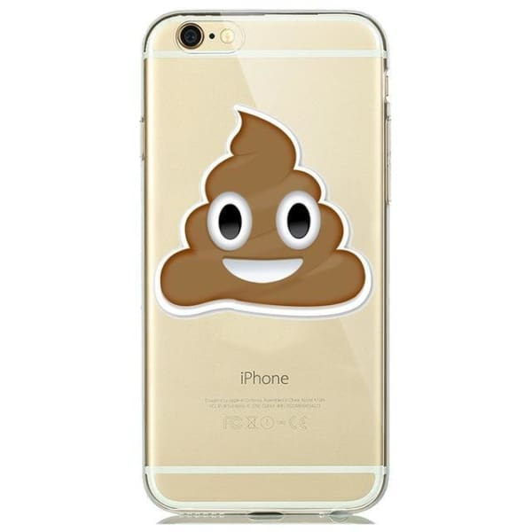 Cute Emoji Phone Cases For Iphone 6(S) Plus /5(S) Se - A6 / For Iphone 5 5S Se - Iphone Cases & Bags - Paidcellphone