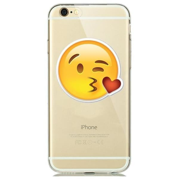 Cute Emoji Phone Cases For Iphone 6(S) Plus /5(S) Se - A2 / For Iphone 5 5S Se - Iphone Cases & Bags - Paidcellphone