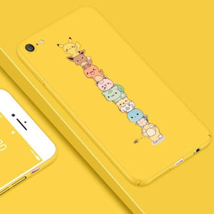 Cute Luxury Patterned Case For Iphone X / 7/8 Plus / 6(S) Plus - Yellow / For Iphone X - Iphone Cases & Bags - Paidcellphone