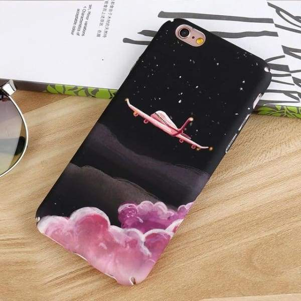 Fashion Artistic Plants Case For Iphone 8 /7 /6(S) Plus - 002 / For Iphone 6 6S - Iphone Cases & Bags - Paidcellphone