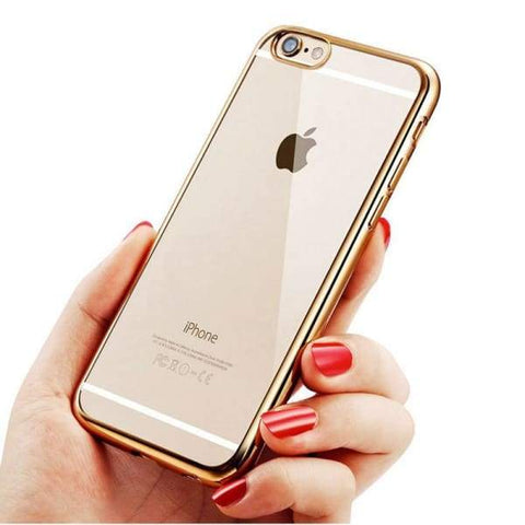 Fashion Tpu Ultra-Thin Soft Transparent Phone Cover For Iphone 6/ 6(S) Plus - Iphone Cases & Bags - Paidcellphone