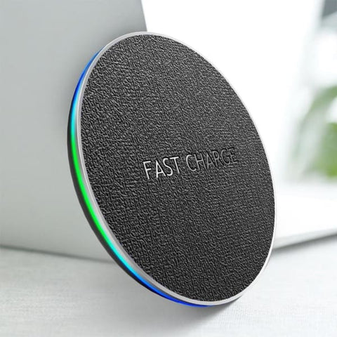 Fast Qi Wireless Charger For Iphone 8 Plus /x /xr /xs Max - Chargers & Cables - Paidcellphone