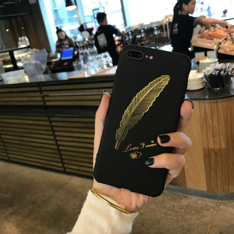 Feather Iphone Case For Iphone 7 /7Plus /6 /6Plus /5 /5S - Iphone Cases & Bags - Paidcellphone