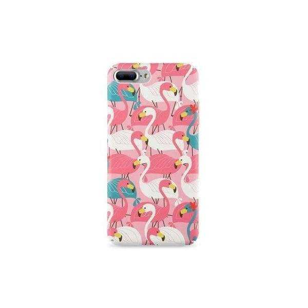 Flamingo Iphone Cases For Iphone 8 /7 /6 /6S Plus /5 /5S /x - Many Flamingos / For I6 Plus I6S Plus - Iphone Cases & Bags - Paidcellphone