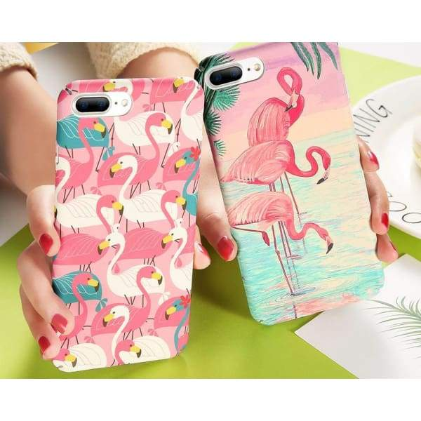 Flamingo Iphone Cases For Iphone 8 /7 /6 /6S Plus /5 /5S /x - Iphone Cases & Bags - Paidcellphone