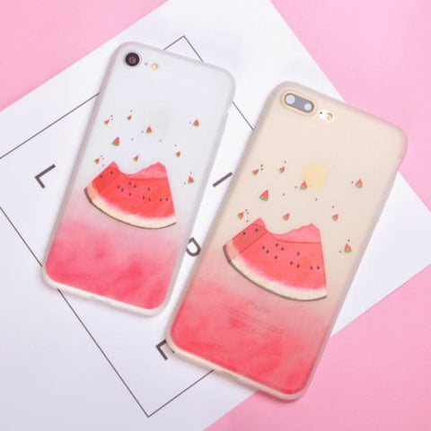 Fruit Matte Iphone Case For Iphone 6 /6S /7 /8 Plus - Iphone Cases & Bags - Paidcellphone