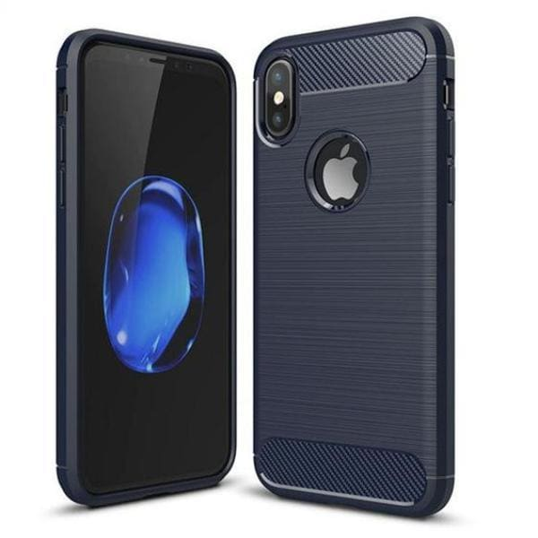 Full Cover Protective Cases For Iphone X - Blue / For Iphone X - Iphone Cases & Bags - Paidcellphone