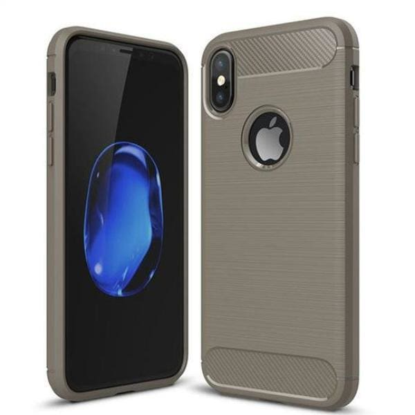 Full Cover Protective Cases For Iphone X - Gray / For Iphone X - Iphone Cases & Bags - Paidcellphone