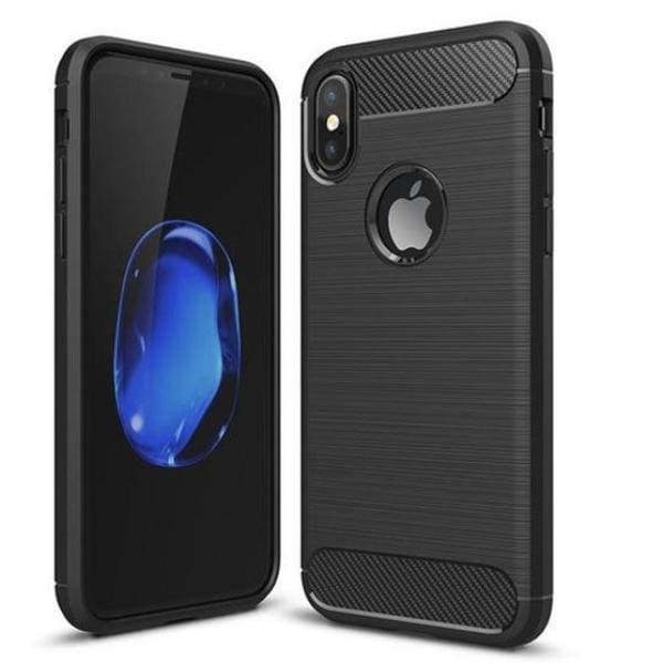 Full Cover Protective Cases For Iphone X - Black / For Iphone X - Iphone Cases & Bags - Paidcellphone