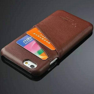 Genuine Leather Case For Iphone 6 Plus - Iphone Cases & Bags - Paidcellphone