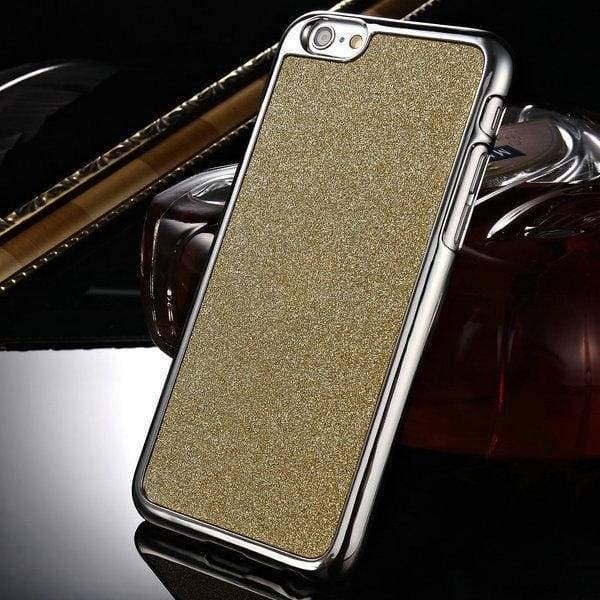 Glitter Hard Case For Iphone 6 /6S - Gold - Iphone Cases & Bags - Paidcellphone