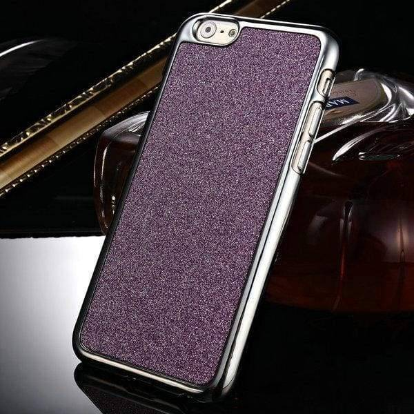 Glitter Hard Case For Iphone 6 /6S - Purple - Iphone Cases & Bags - Paidcellphone