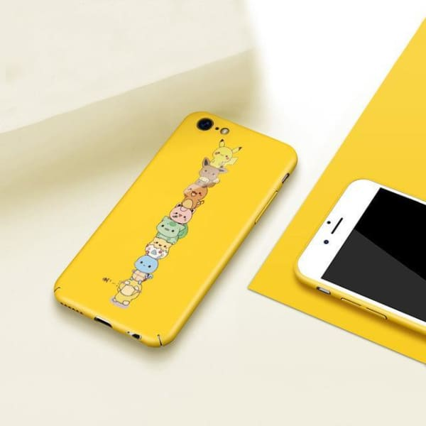 Hard Pc Conque Phone Case Design For Iphone 6/ 6S Plus - Yellow / For Iphone 6 6S - Iphone Cases & Bags - Paidcellphone