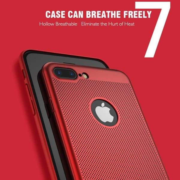 Heat Dissipation Iphone Case For Iphone X /7 /6 /6S Plus /5 /5S Se - Iphone Cases & Bags - Paidcellphone