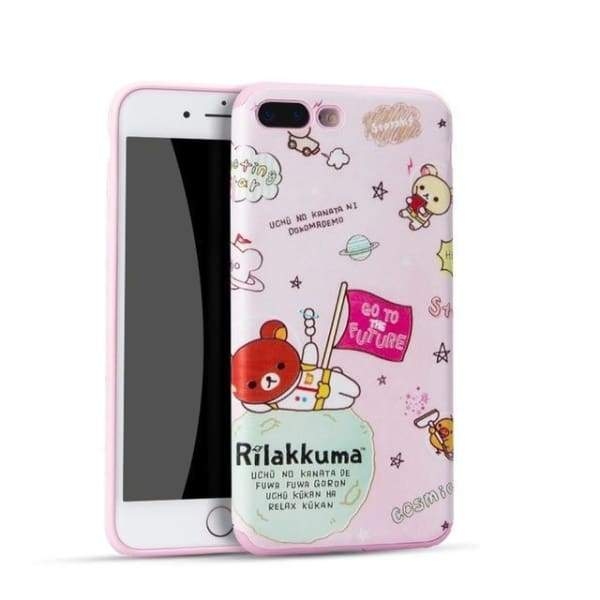 Hello Kitty Cartoon Case For Iphone 7 /8 /6(S) Plus - 02 / For Iphone 6 - Iphone Cases & Bags - Paidcellphone