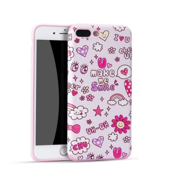 Hello Kitty Cartoon Case For Iphone 7 /8 /6(S) Plus - 05 / For Iphone 6 - Iphone Cases & Bags - Paidcellphone