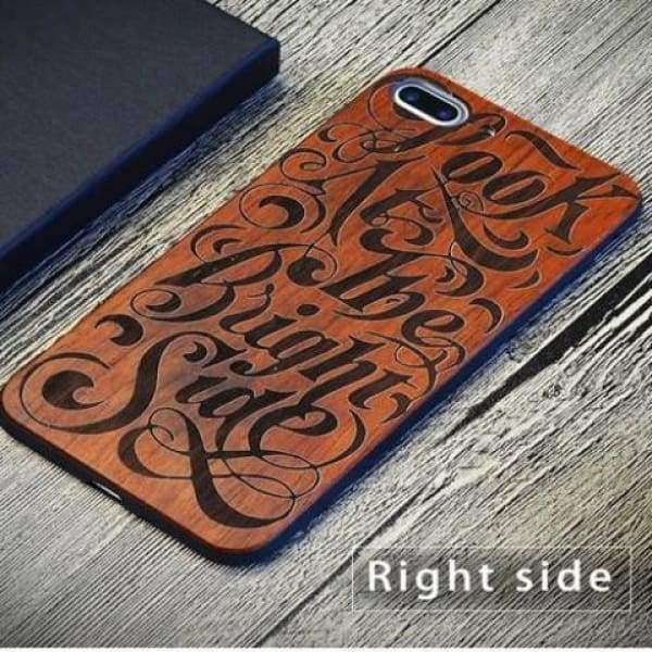 Keep Calm Wooden Case - As Picture 6 / For Iphone 7 8 - Iphone Cases & Bags - Paidcellphone