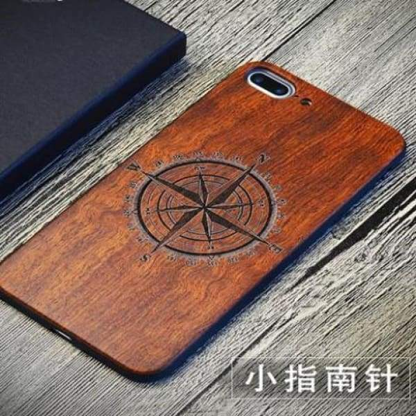 Keep Calm Wooden Case - As Picture 8 / For Iphone 7 8 - Iphone Cases & Bags - Paidcellphone