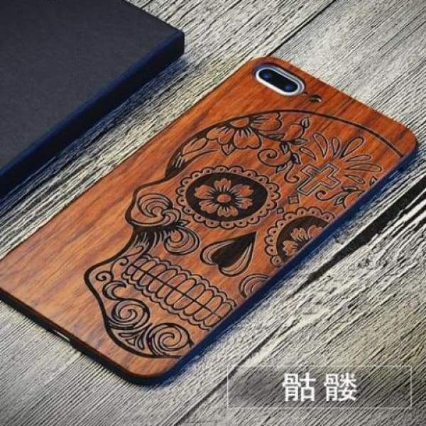 Keep Calm Wooden Case - As Picture 4 / For Iphone 7 8 - Iphone Cases & Bags - Paidcellphone